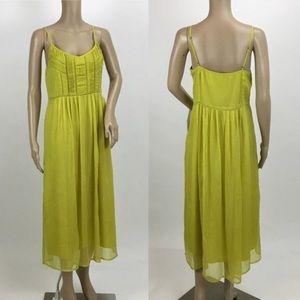 Greenish/yellow Dress